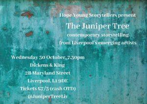 Juniper Tree poster (Oct 2019)